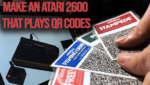 PaperCart – Make an Atari 2600 that plays QR codes